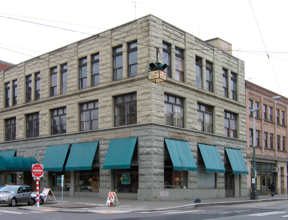 Evolution of a Building in Pioneer Square: The Furuya Building