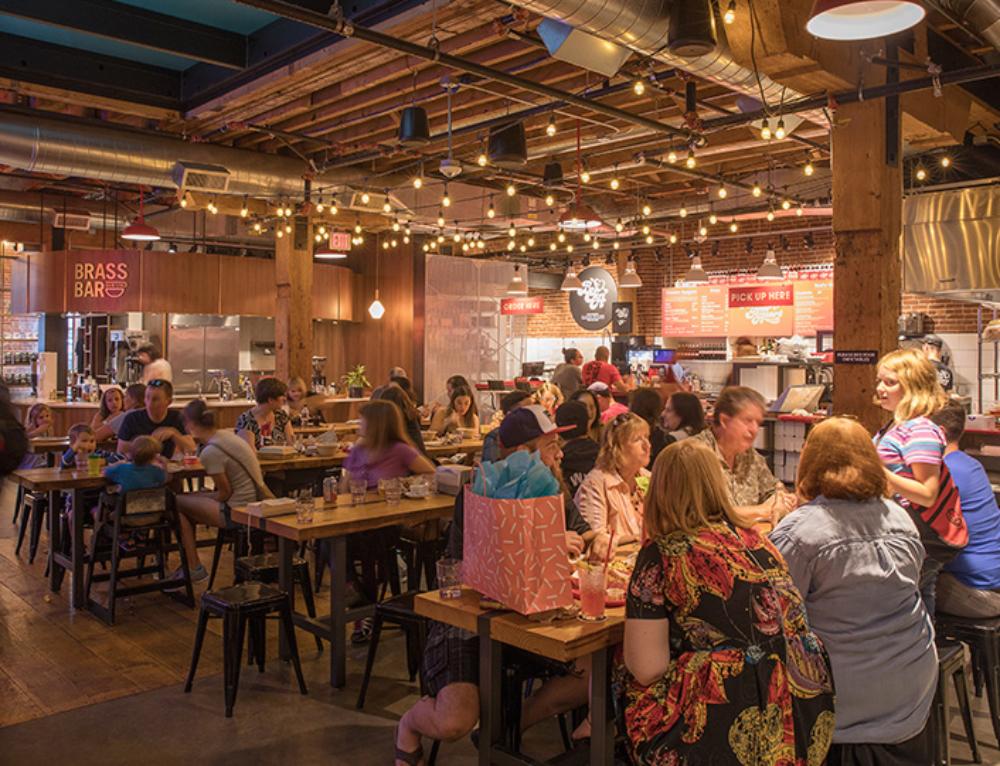 Huge Food Hall Pine Street Market Opens in Downtown Portland