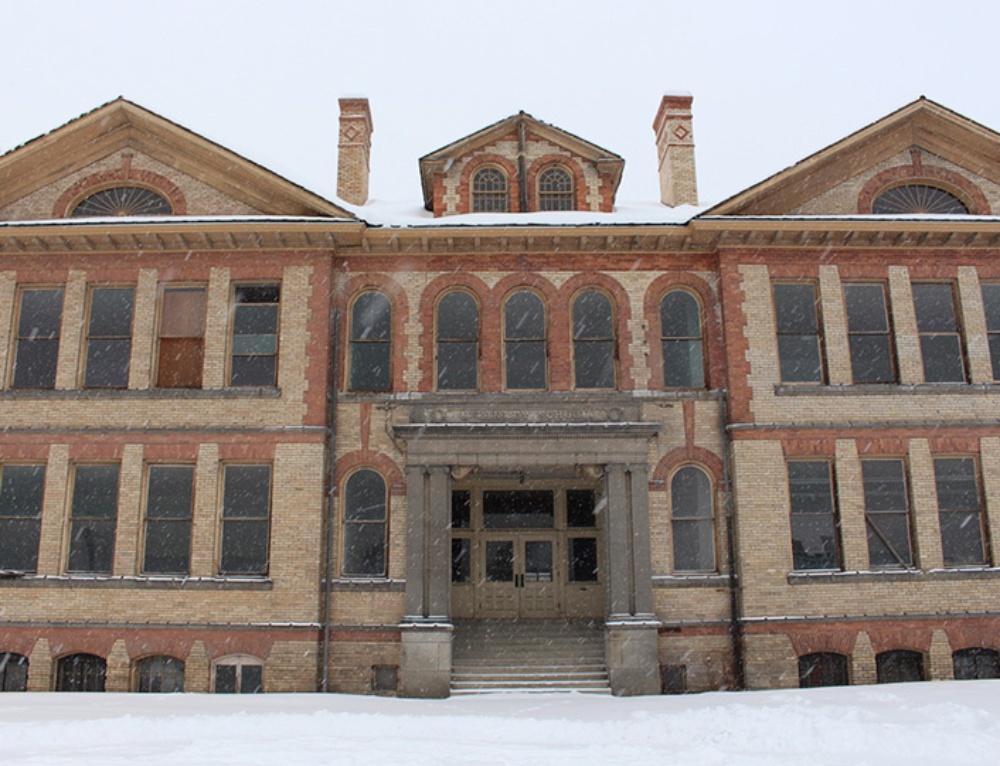 Rob Brewster is Redeveloping the Old McKinley School in East Central Spokane