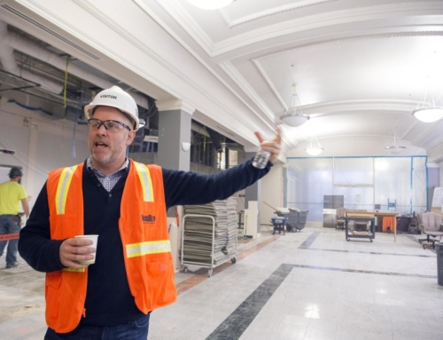 Spokane Central Market taking shape in former downtown Spokane Crescent Store's Arcade